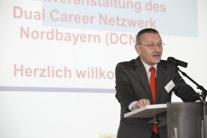 Begrüßung Hr. Schöck, Kanzler der FAU